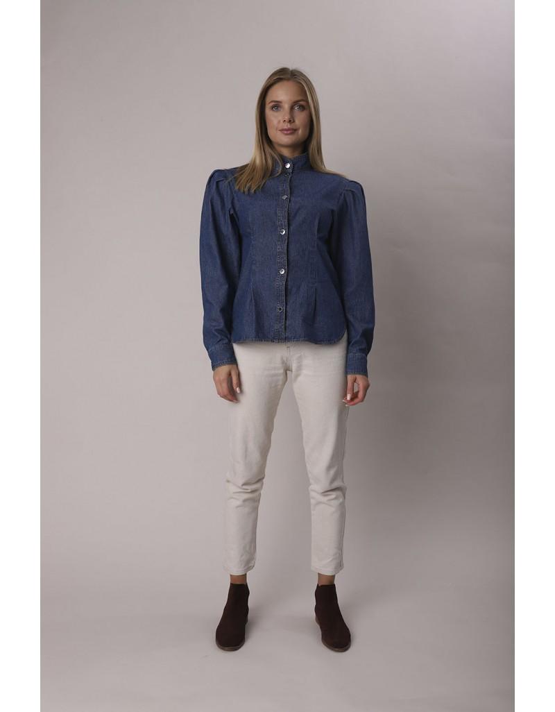 Джинсовая блуза