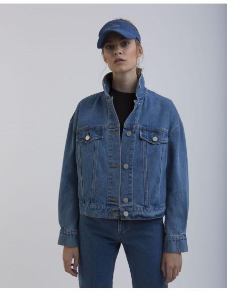 Джинсовая куртка Crop